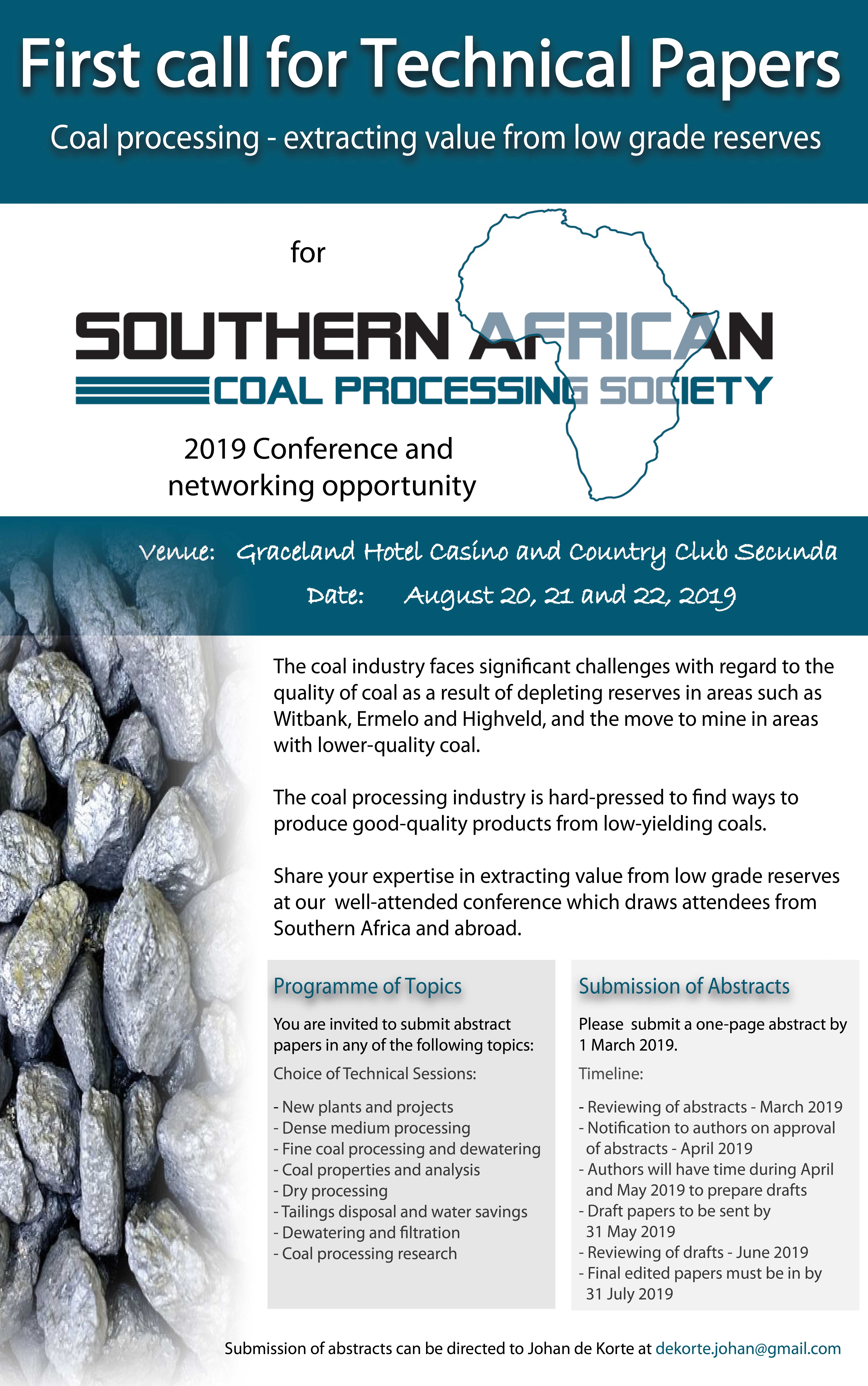 The Southern African Coal Processing Society